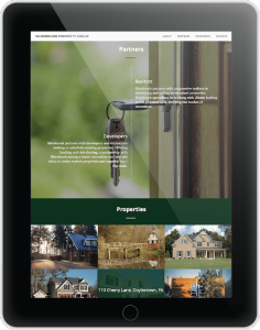 Case Study Tablet View