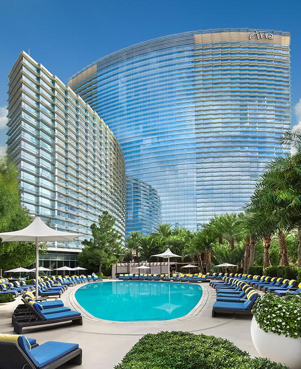 Aria Resort & Casino Pool
