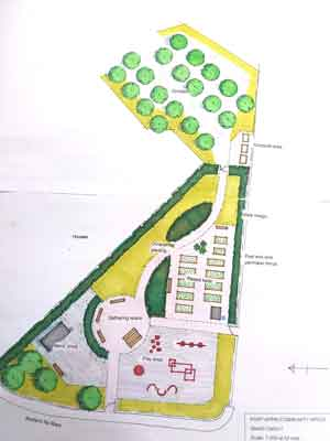 Community Garden scheme option 1