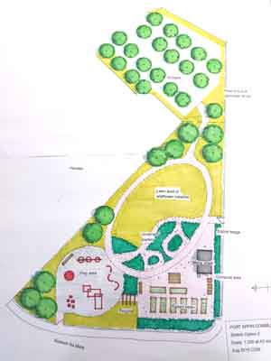 Community Garden scheme option 2