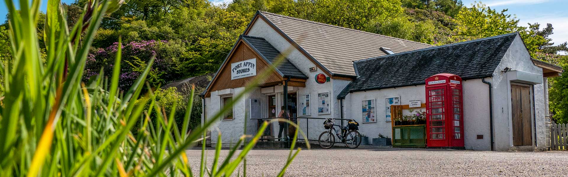 Port Appin Stores - community owned and well-stocked with fresh, local foods and everyday groceries