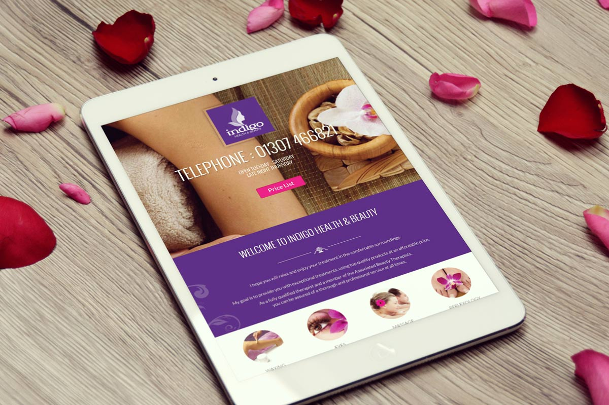 Rushden Website Design - Massage