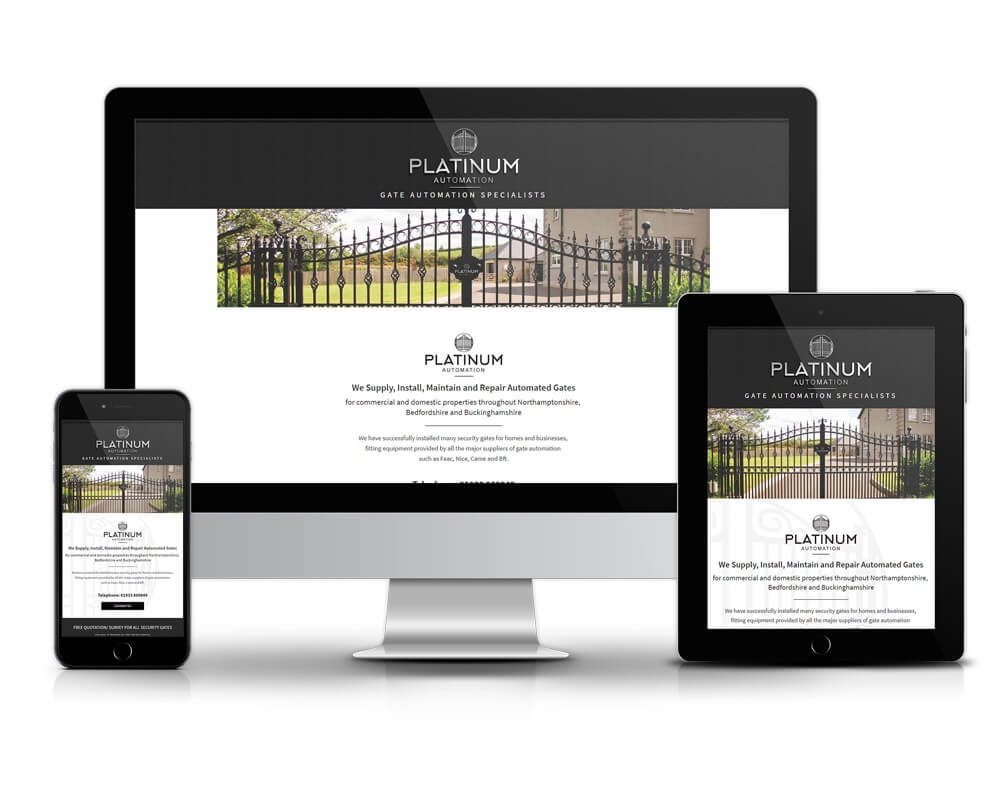 Rushden Website Design