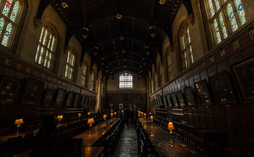 inside of hogwarts harry potter