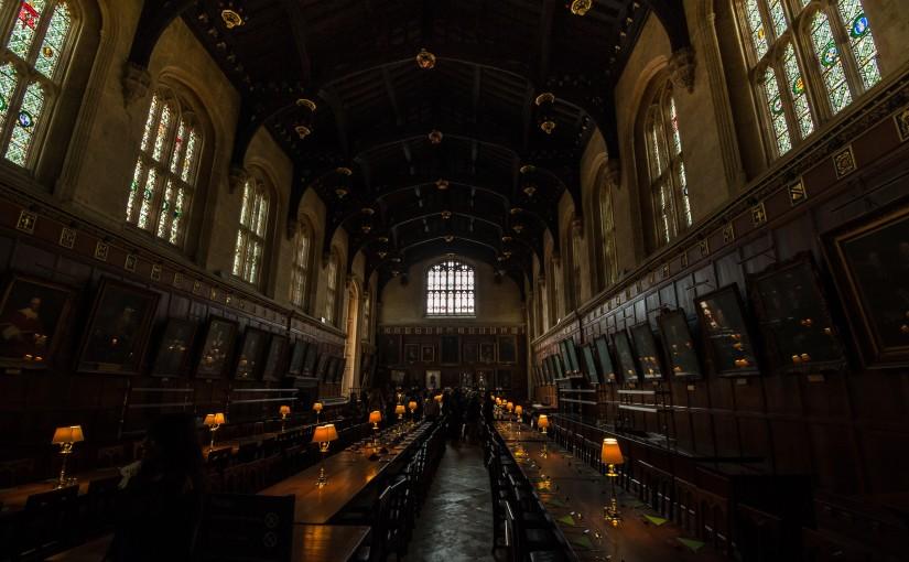 inside of hogwarts harry potter