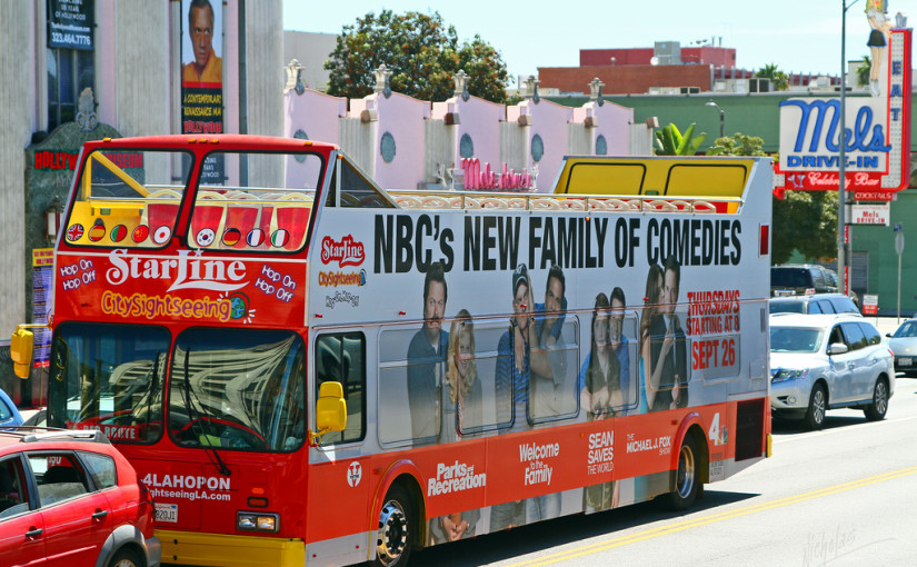 starline tour bus