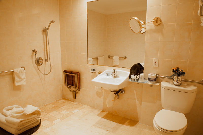 Best Western Sunset Plaza Accessible King Roll In Shower