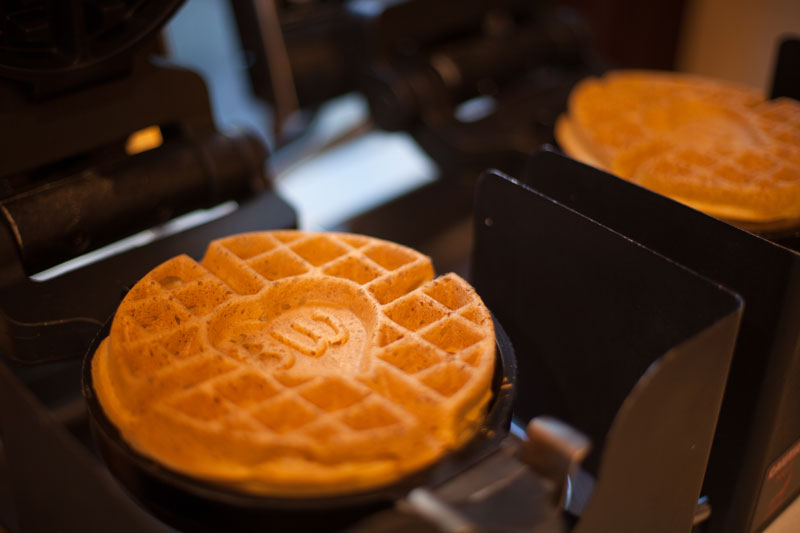 Best Western Sunset Plaza Ready Made To Order Waffles