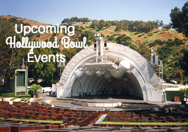 hollywood bowl upcoming events