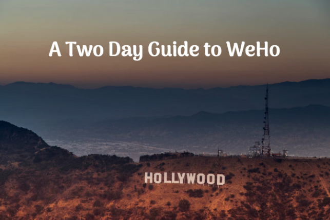 guide to weho