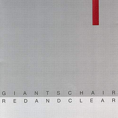 473 Red And Clear by Giants Chair