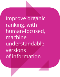 Human-focused search quote