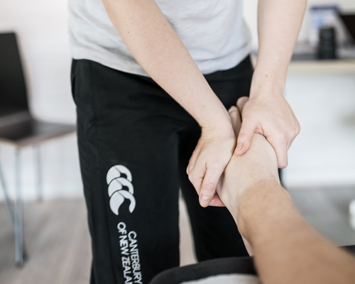 Samantha Griffiths kinesis - Foot therapy  image