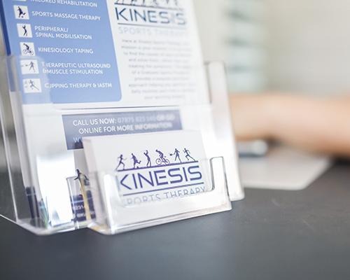 Samantha Griffiths kinesis - information image