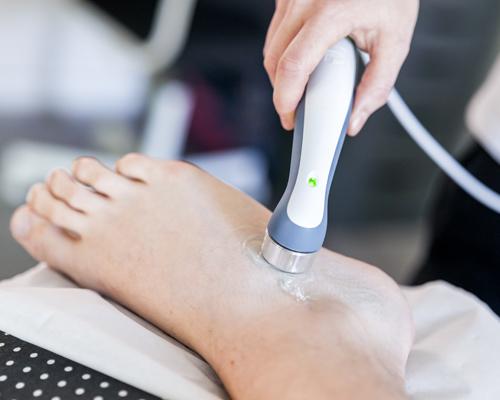 Samantha Griffiths kinesis - Leg machine image