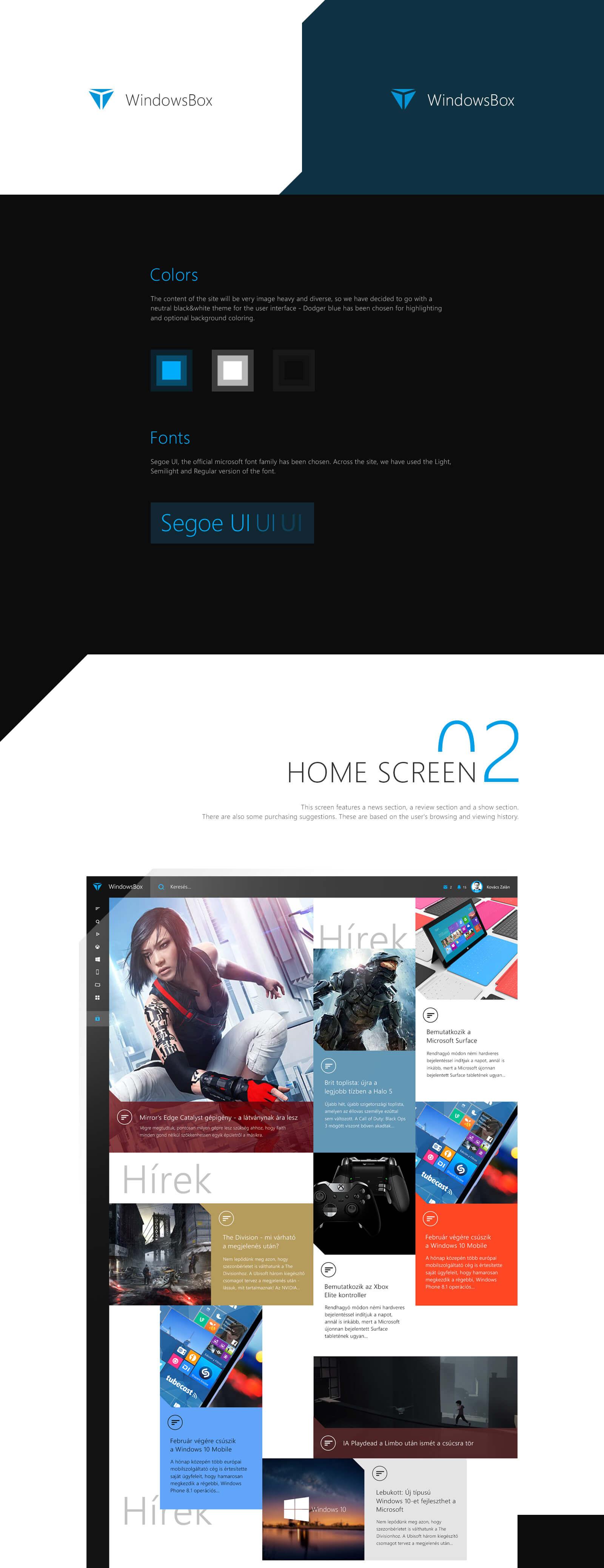 Windows box website rebrand design feature by Finsweet