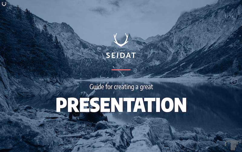 Seidat presentation guide