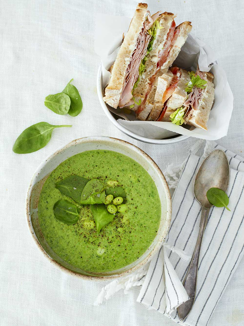 Supergrön soppa