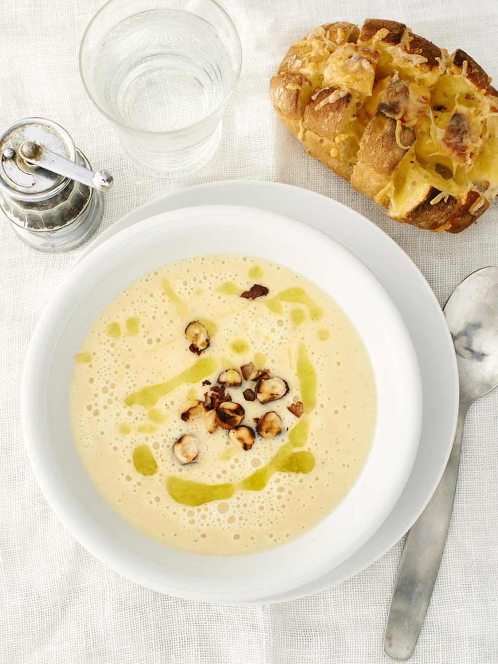 Soppa med jordärtskocka