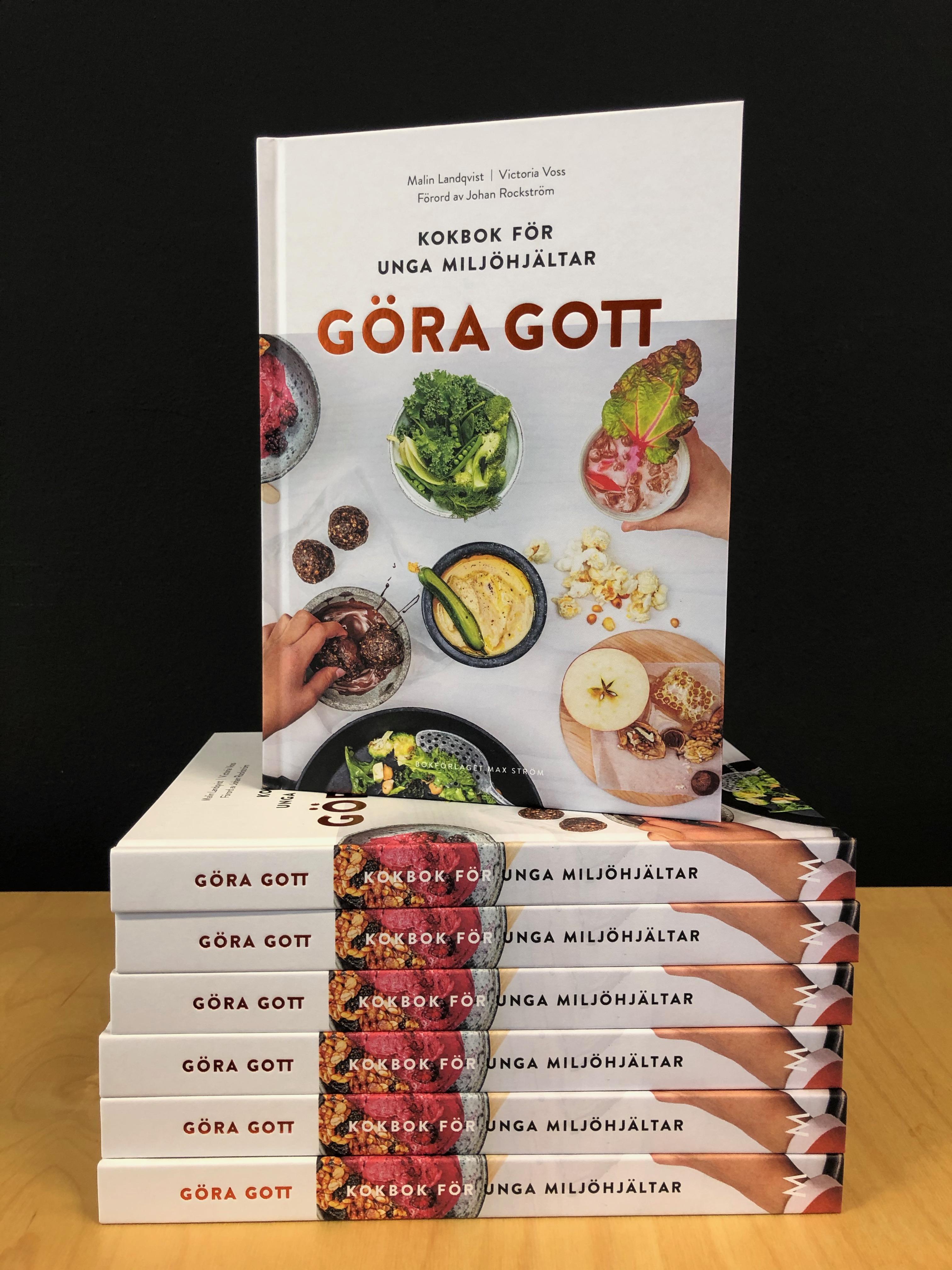 Receptet hittar du i boken Göra Gott - För unga miljöhjältar