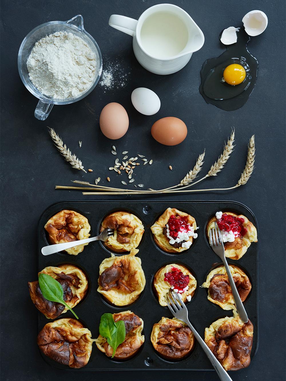 Muffinspannkakor