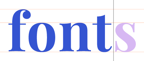 fonts graphic