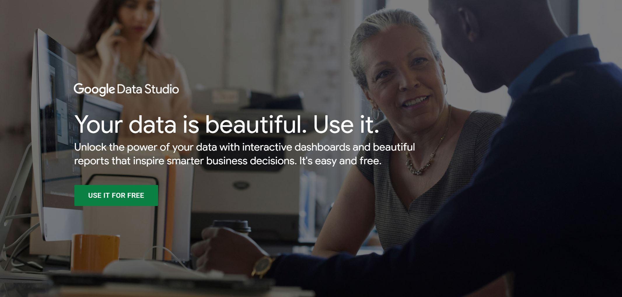 Google Data Studio Home