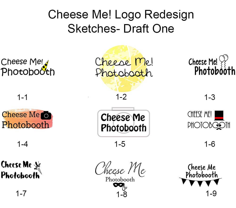 CheeseMe Logo Redesigns
