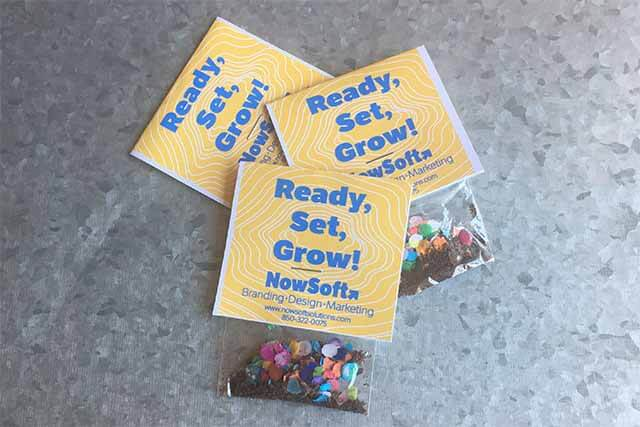 Picture of NowSoft's Ready, Set, Grow campaign.