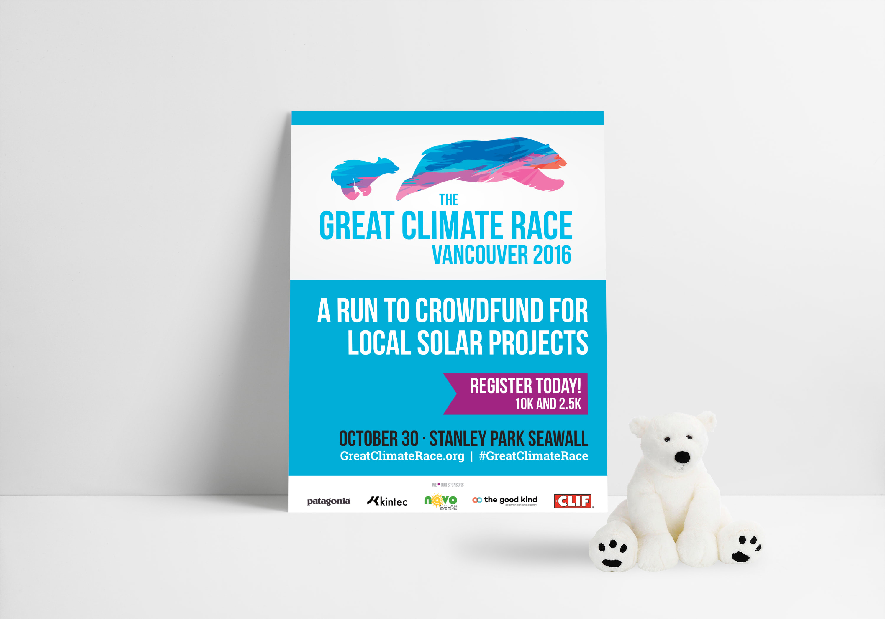 After just 2 years and over $50,000 raised for clean energy projects, the Great Climate Race is one of Vancouver's most enjoyed race events. The race pulls in a diverse crowd of hardcore runners as well as families with kids, racing to raise money to fund solar energy projects. A unique event in its own right.