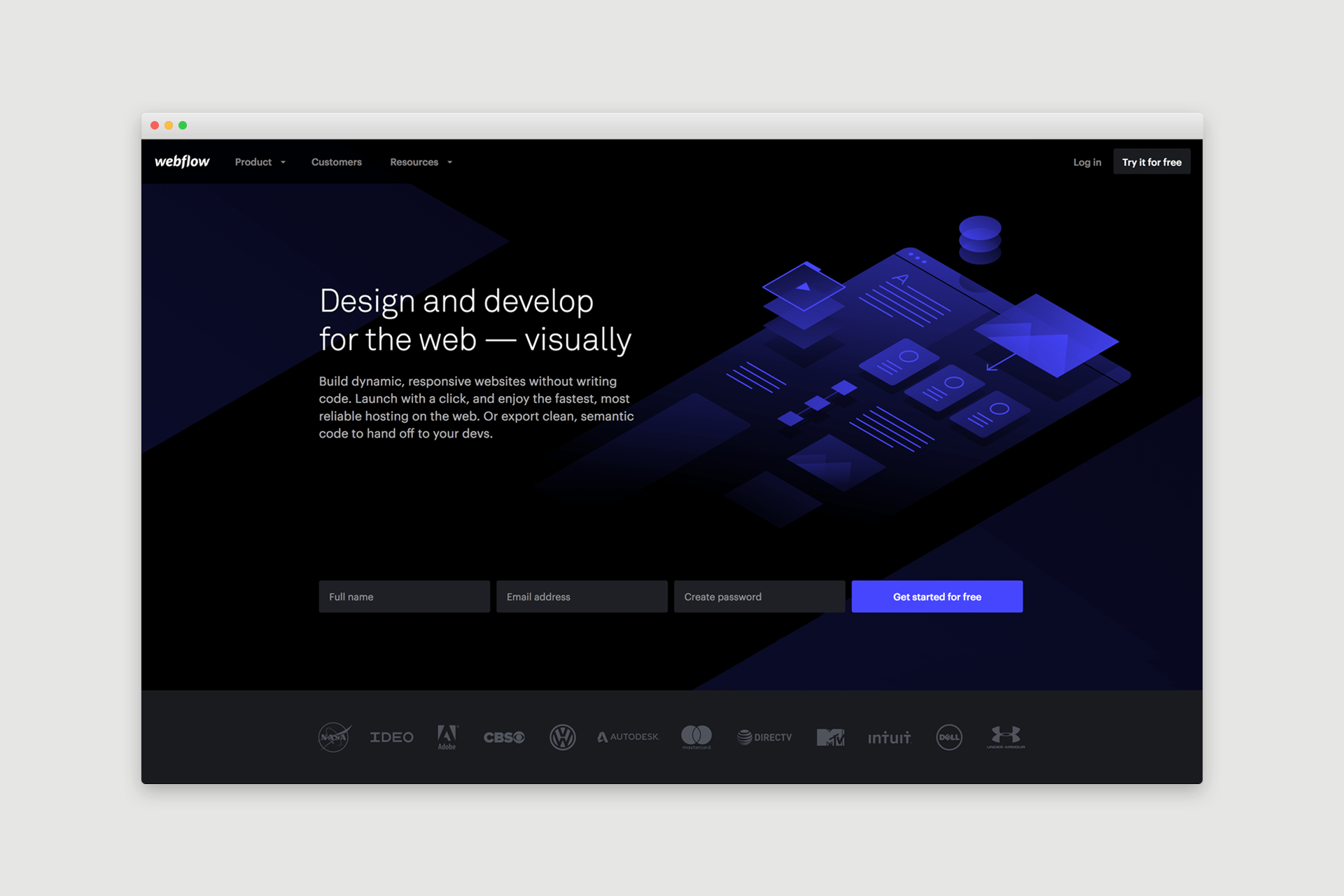 Webflow Website Design