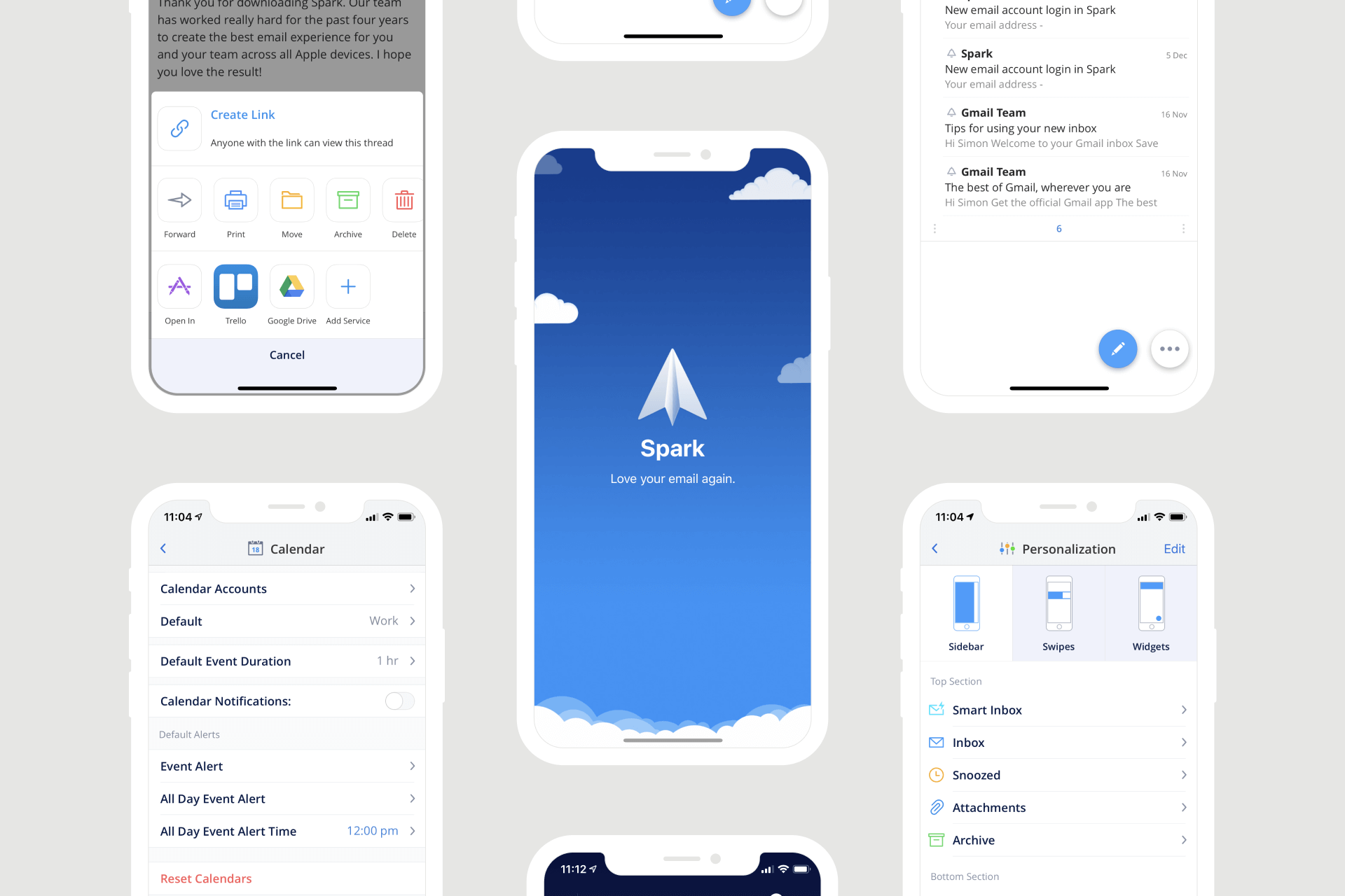 Spark Email app - Design teardown and review