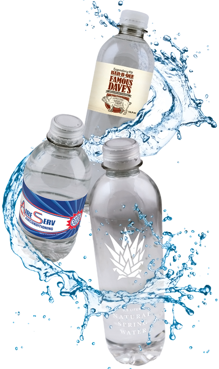 private label bottled water