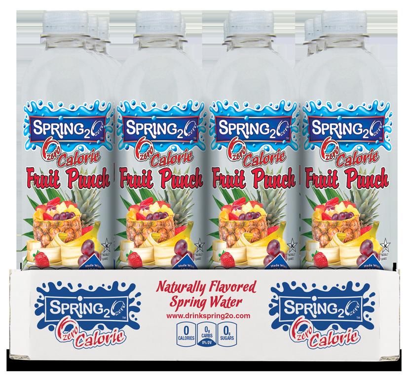 Spring2o fruit punch