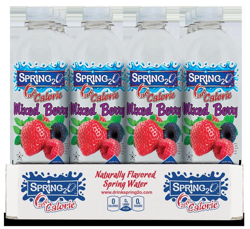 Spring2o mix berry