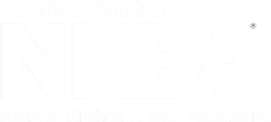 national kitchen and bath association logo white