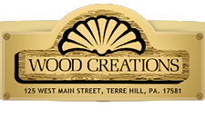 wood creations custom cabinetry logo