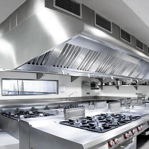 Charmant Kitchen In Los Angeles After Hood Cleaning Service