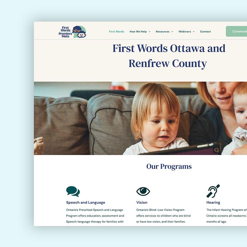 First Words Ottawa and Renfrew