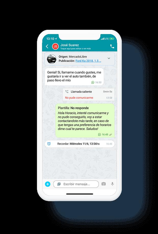 Interfaz Conversacional WhatsApp