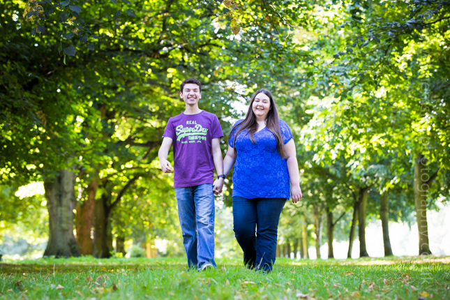 Steph & Tom's Get To Know You Shoot - Coombe Abbey