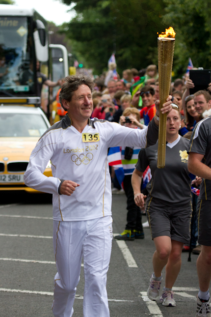 Olympic Torch - Documentary Photography