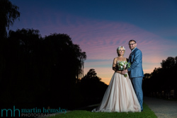 Emma & Melvin's Coombe Abbey Sunset Photos