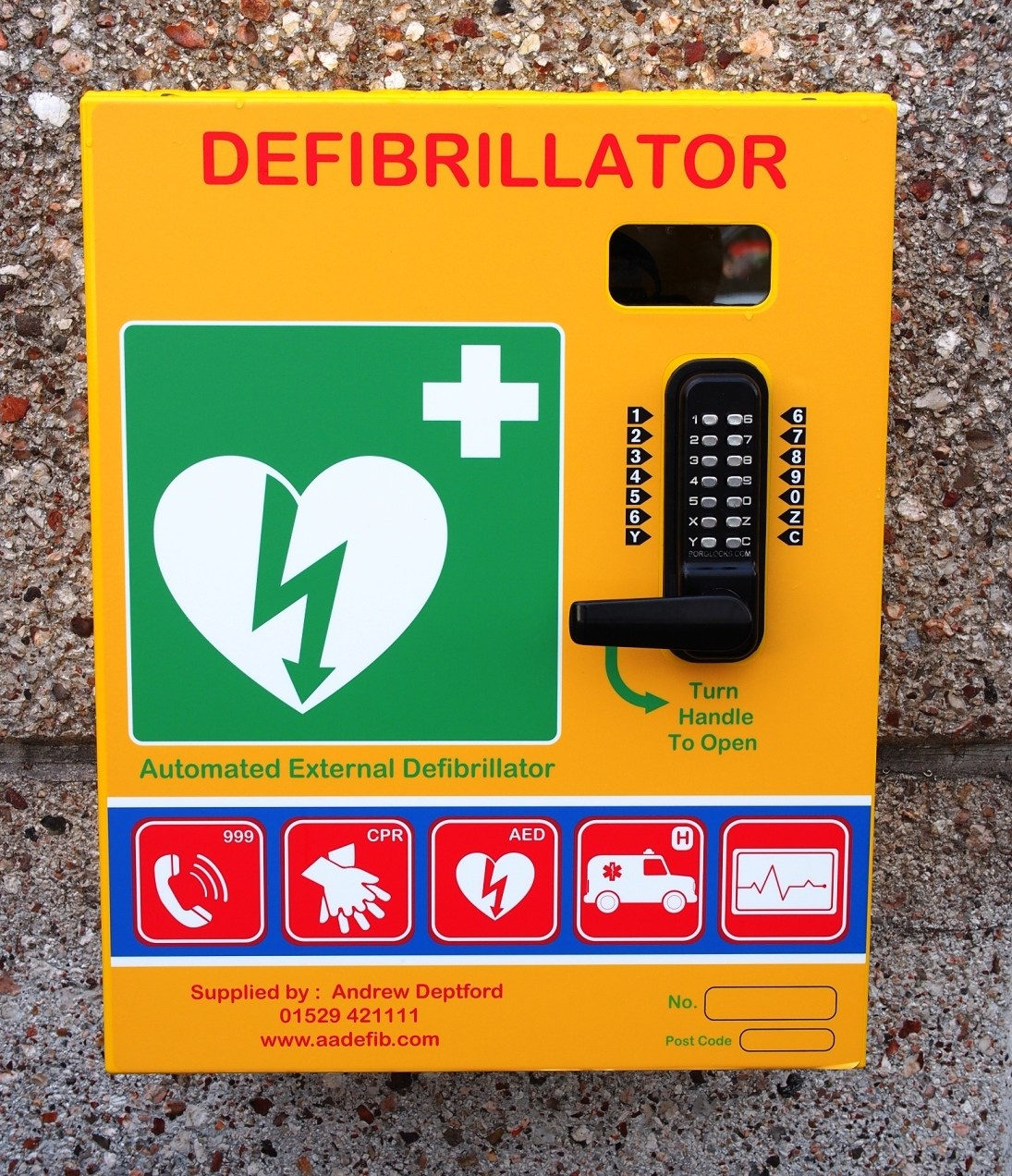 Publicly Available Defibrillators (PAD's)