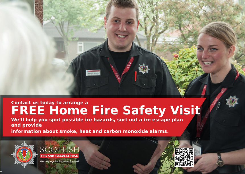 Community advice from Fire Service