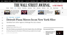The Wall Street Journal - Pizza