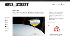 Grub Street - Best Cocktails