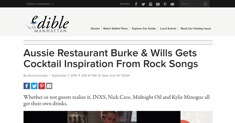edible - Burke & Wills