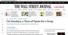 The Wall Street Journal - Barcelona