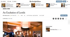 The New York Times - Moti Mahal